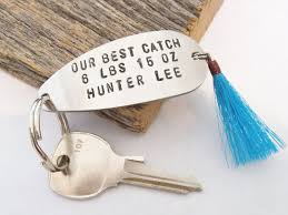 fishing lure keychain boyfriend gift husband gift for girlfriend
