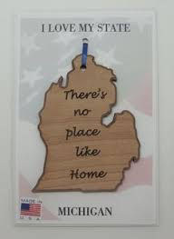 oregon state wood ornament there s no place like home wood