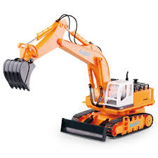 Radio Controlled Front Loader 1 10 Scale Rc Bulldozer Construction Deao Rc Excavator Digger With Lights And Sounds Ebay