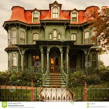 cape may victorian home royalty free stock image image 21586236