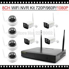 Wifi Baru 2017 Baru Kedatangan Luar Ruangan Sistem Kamera Keamanan Nirkabel 8