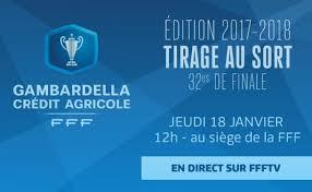 siege de la fff tirage des 32èmes connu ligue bretagne de football