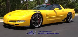 yellow corvette c5 apsis lamination wood dashes