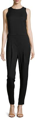 black sleeveless jumpsuit romeo juliet couture open back sleeveless jumpsuit black where