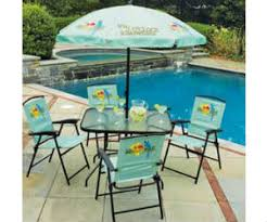 6 Piece Patio Set by Win A Margaritaville 6 Piece Folding Patio Set With Umbrella