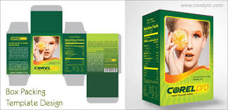 banner design in coreldraw x7 box packing template corelpro