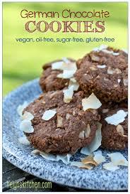 helyn u0027s plant based kitchen german chocolate cookies vegan