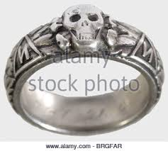 ss wedding ring a ss s ring and a heraldic ring of the estonian legion