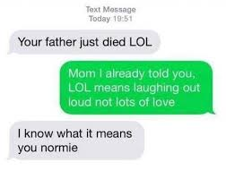 Text Message Meme - dopl3r com memes text message today 1951 your father just died