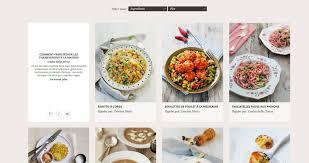 site de recettes cuisine un beau site de recettes kitchenaid une recette par four