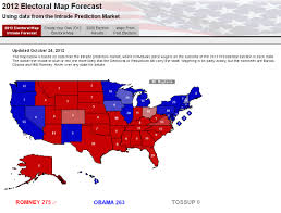 Create Electoral Map Electoral Map Based On Intrade Data