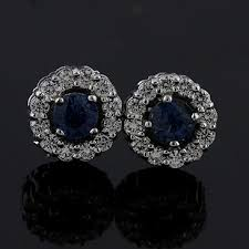 designer stud earrings designer diamond snowflake stud earrings white gold orospot