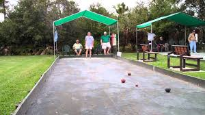 new bocce court youtube