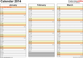 weekly calendar 2014 for excel 4 free printable templates work