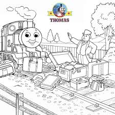 thomas the train coloring pictures for kids to print out and color