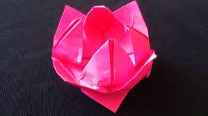 cara membuat bunga dari lipatan kertas cara membuat origami bunga teratai origami bunga dan tanaman youtube