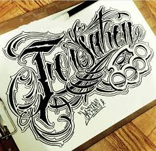 chicanos graffiti lettering sketches sketch letter chicano font