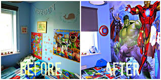 inside the wendy house freddy u0027s avenger u0027s bedroom makeover using