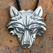 silver wolf necklace images Wolf pendant sterling silver wolf necklace norse jewelry jpg