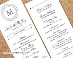 best wedding programs 178 best wedding ideas images on wedding stuff