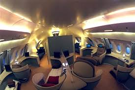 Airbus A 380 Interior Extravagant Interior Of The World U0027s First Vip Airbus A380 Revealed