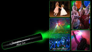 blisslights laser wand handheld light the green
