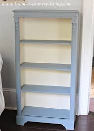 One Step Ahead Bookshelf Chalk Paint Bookcase Makeover Jennifer Rizzo