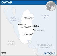 Doha Map Qatar Map