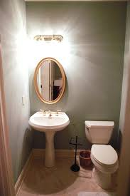 Matching Pedestal Sink And Toilet Guest Bathroom Reveal Bower Power