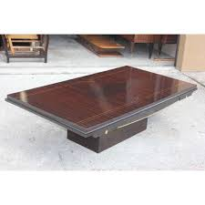 Exotic Coffee Tables by French Art Deco Exotic Macassar Ebony Coffee Cocktail Table
