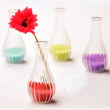 Purple Vases Cheap Creative Streaks Glass Vases For Flower Arrangments Mini Hand