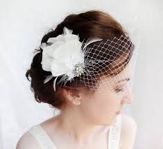 feather hair accessories accessories white feather hair clip 2228580 weddbook