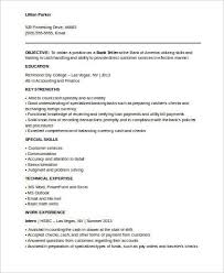 Bank Teller Resume Sample No Experience by No Experience Resume Sample 7 Examples In Word Pdf