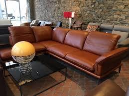 canapé d angle cuir pleine fleur canapé angle design 4 places contemplation tm cuir pleine fleur cognac