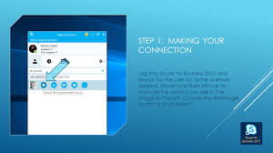 Email Addresses For Business by Using Skype For Business To Share Desktops Ppt Video Online Download
