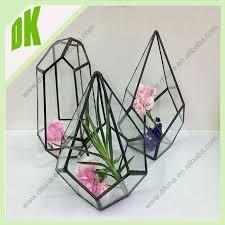 hanging candle holder terrarium glass wedding decoration