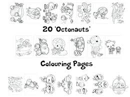 Octonauts Coloring Pages Zoom Octonauts Colouring Pages Gup X Octonauts Coloring Pages