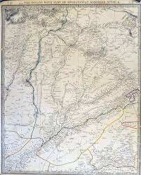 Punjab India Map by India Punjab Sikh Map 1840 Published Shortly After The Death Of