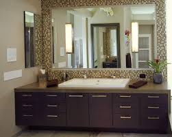Unique Bathroom Mirror Frame Ideas Diy Tile Framed Bathroom Mirror Bathroom Mirrors Ideas