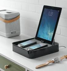 Smartphone Charging Station Bluelounge Sanctuary4 Charging Station For Smartphones And Tablets