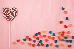 s day lollipops s day heart shaped lollipops stock image image of