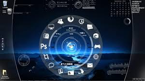 image bureau windows 7 bureau windows 7 rainmeter blue planet rainmeter theme for