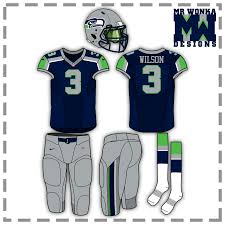 seattle seahawks uniform concept concepts chris creamer u0027s