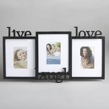 essential home three opening live laugh love frame
