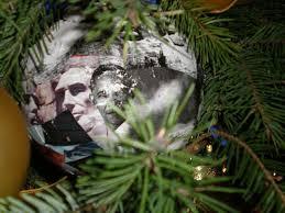 obama tree ornaments lights decoration