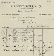 how to write a reaction paper to a film fdr and polio fdr presidential library museum includes a handwritten note from fdr saying the braces don t fit july 5 1926 from collection fdr family business personal papers