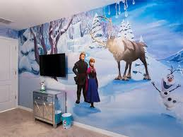 disney u0027s frozen inspired room