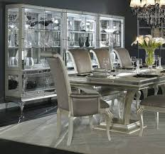 Silver Dining Table And Chairs Black And Silver Dining Room Set Of Worthy Black And Silver Dining