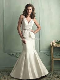 aliexpress com buy lace bodice wedding dresses deep v neck pant