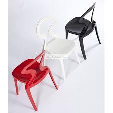 chaises cuisines chaise de cuisine noir ou blanc par gaber
